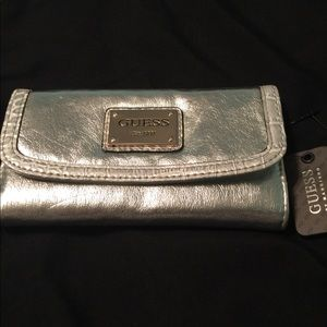 Guess Silver wallet